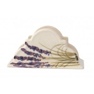 servilletero de cerámica con lavanda 15 * 7,5 * 7,5 cm sólo a petición