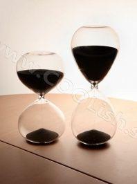 Originálny darček Presýpacie hodiny veľké čierne http://www.coolish.sk/sk/doplnky-darceky/presypacie-hodiny-velke-cierne