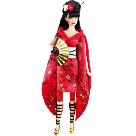 Barbie Collector Doll, Japan, Red