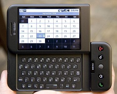HTC Dream - Wikipedia, the free encyclopedia