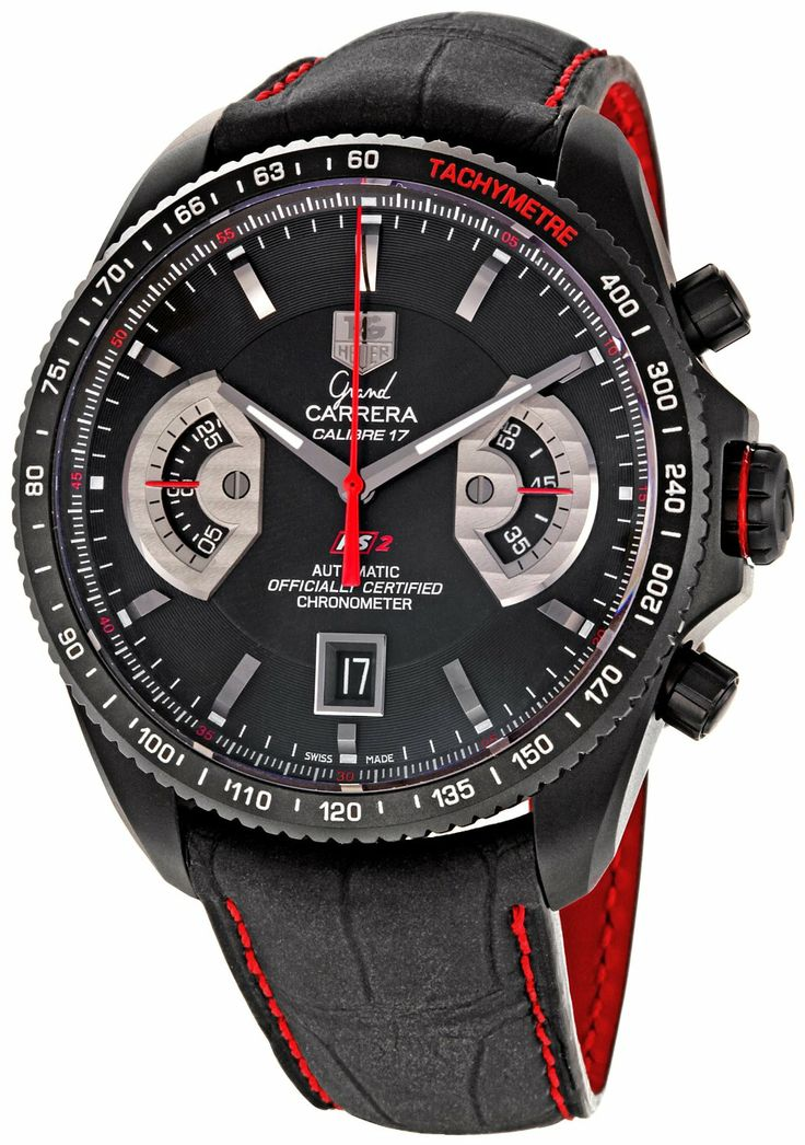 Часы мужские tag heuer grand carrera calibre 17