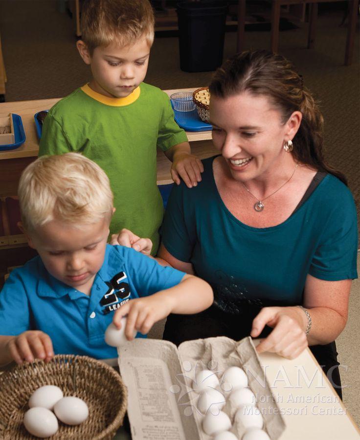 NAMC montessori teacher two boys interrupting grace and courtesy rules routines preschool