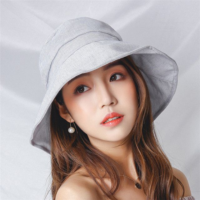 [AETRENDS] 2017 New Fashion Sun Hats Women's Summer Cotton ...