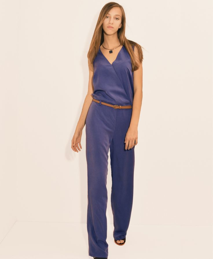 JUMPSUIT WITH CAPE EFFECT