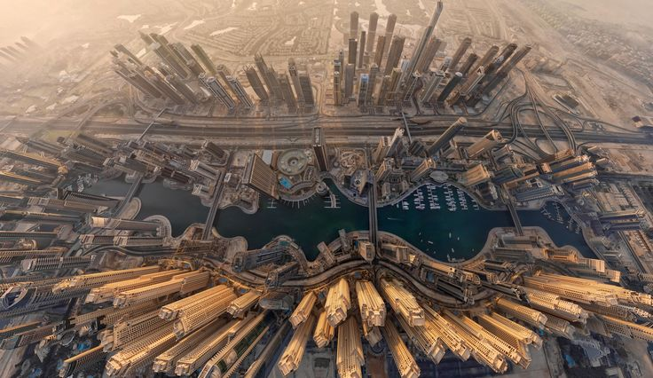 Photograph Dubai Marina by AirPano on 500px