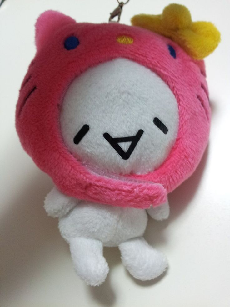 JPLand Stuff - Sanrio Hello Kitty x KAOMOJIN Plush Strap (Pink), $9.99 (http://www.jplandstuff.com/sanrio-hello-kitty-x-kaomojin-plush-strap-pink/)