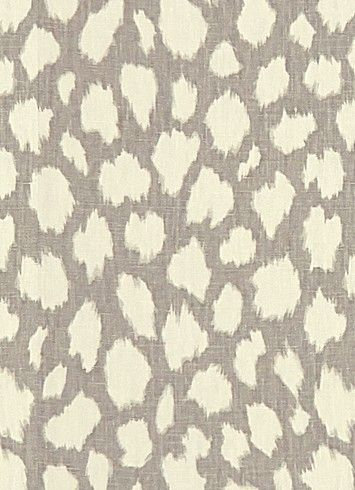 Leokat Silver   Kate Spade Fabric   Iconic Animal Print On 100% Linen Fabric.  Ideal For Window Treatments Or Furniture Upholstery. Heavy Duty 15,00u2026