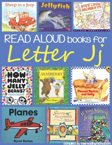 Read Aloud Books for Letter J - Letter J Book list
