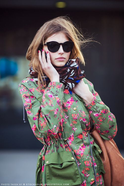 pretty print  Stockholm Streetstyle — In The Moment — by Caroline Blomst.