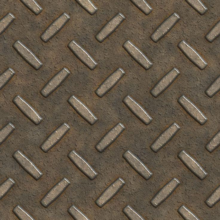 rusty metal grid texture