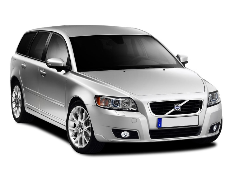 And to our latest family drive - a Volvo V50 Sportswagon