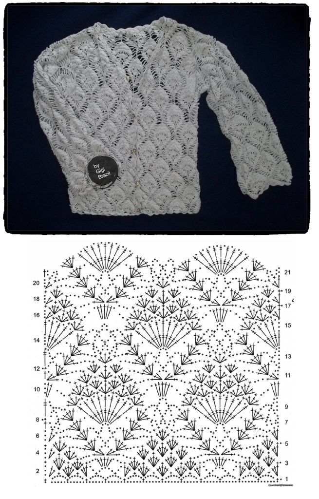 made by Gigi Brazil :) ...  CROCHET AND KNIT INSPIRATION: http://pinterest.com/gigibrazil/crochet-and-knitting-lovers/