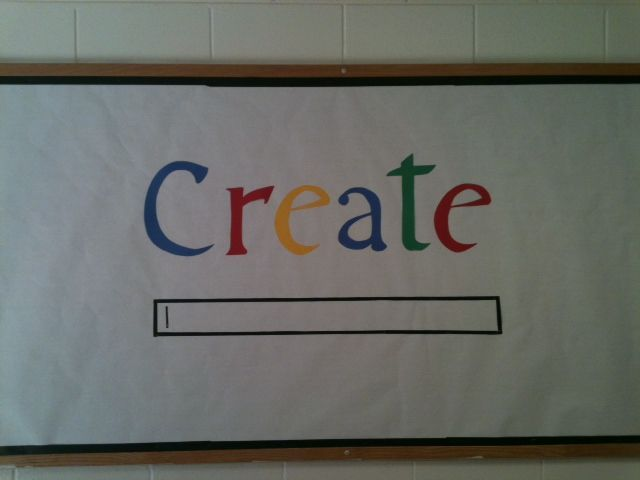 """Use word Goals and in search bar, write """"What are your goals for enrichment lab?"""". #bulletinboard #teachertools"""