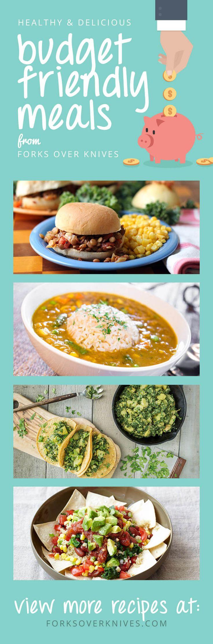 8 Budget-Friendly Meals - Forks Over Knives