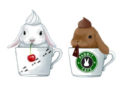 Rabbit Cafe Bunnies