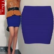 2013 Frauen Frühjahr und Sommer Flax Paket Hip Rock Paket Rock Röcke die homogene kleinen kurzen Rock mit hoher Taille Rock große Code-Flut
