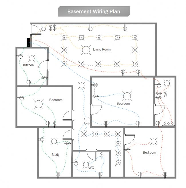 residential house wiring design