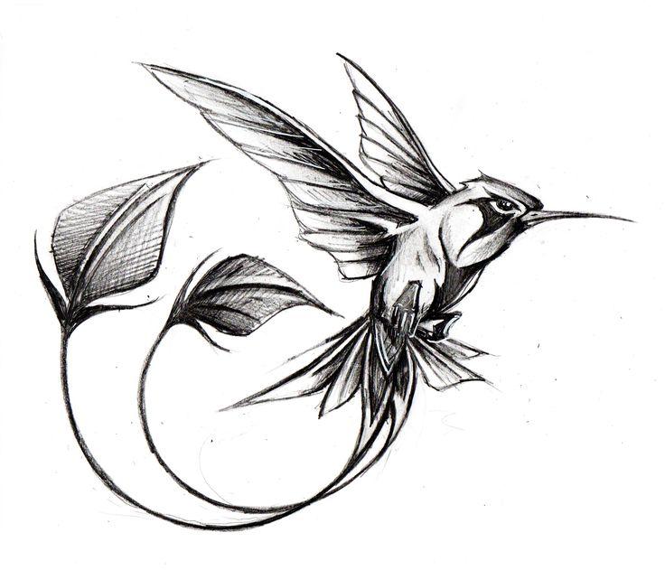 Tatouage colibri noir et blanc recherche google tatouage pinterest search - Tatouage noir et blanc ...
