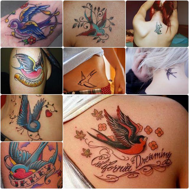 Ingridy Cavalcante: Tatuagens de pássaros