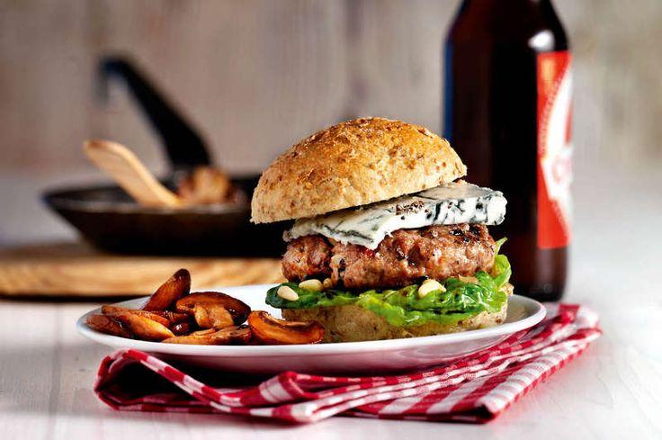 Black Angus-Burger
