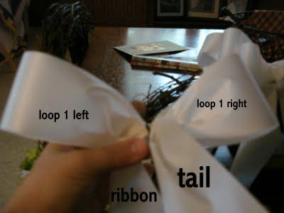 How to make pew bows...