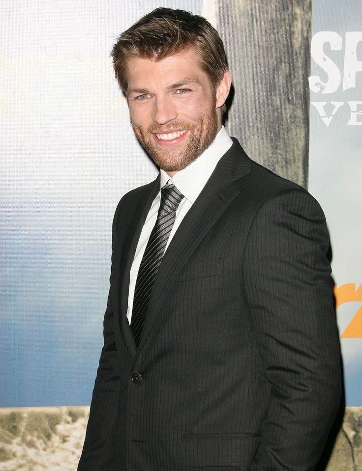Liam McIntyre!!!  Soooooo handsome!