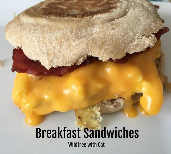 Make ahead breakfast sandwiches made the Wildtree way ... recipe found on my VIP group https://www.facebook.com/groups/1629796040371040/