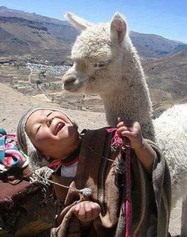 Having fun in Bolivia.