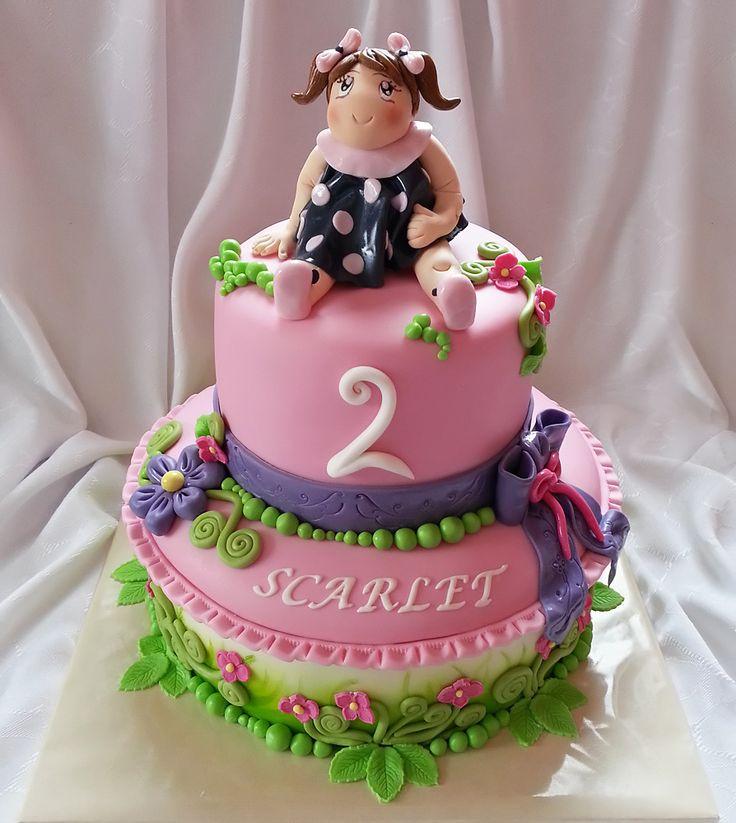 Torta - Pre dievčatko / Cake for small girl