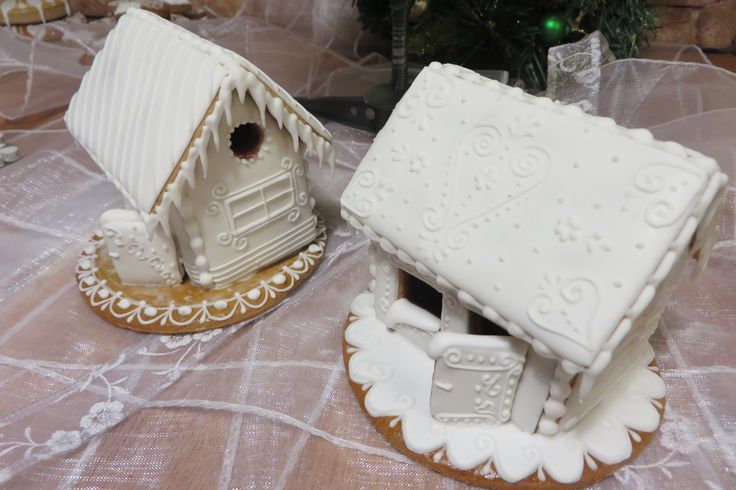 Gingerbread houses made by honiees