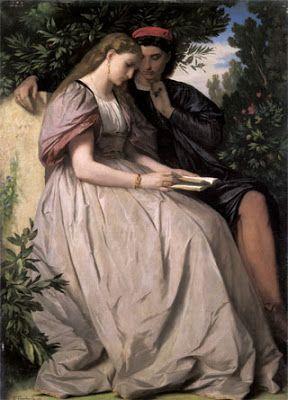 Anselm Feuerbach, Πάολο και Φραντσέσκα. 1864. Νομίζω σε Ιδιωτική Συλλογή.