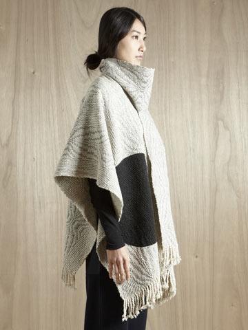 P.A.M. wool poncho