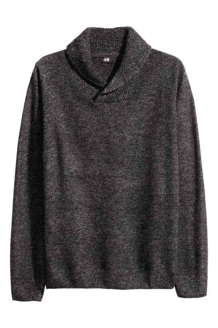 Pulover cu guler-șal | H&M