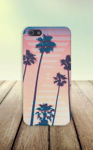 Retro California Palms Case for iPhone 5 iPhone 5S