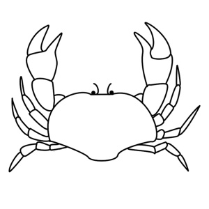 How to Draw A Crab - Step-by-Step Tutorial