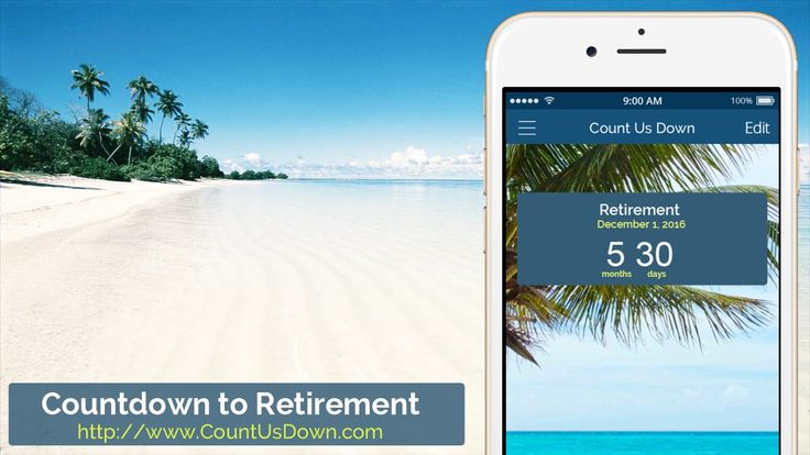Image result for retirement countdown phone app image