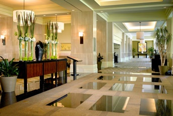 Westin South Coast Plaza lobby, Costa Mesa; Love to stay here when I go to Newport Beach; it's directly across the street from the South Coast Plaza Mall...