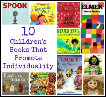 11 Children's Books About Why It's OK to Be Different  |Being Different Books