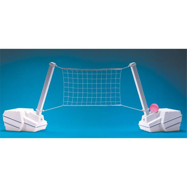 Dunn Rite Slam Volly Portable Pool Volleyball System - SLV200
