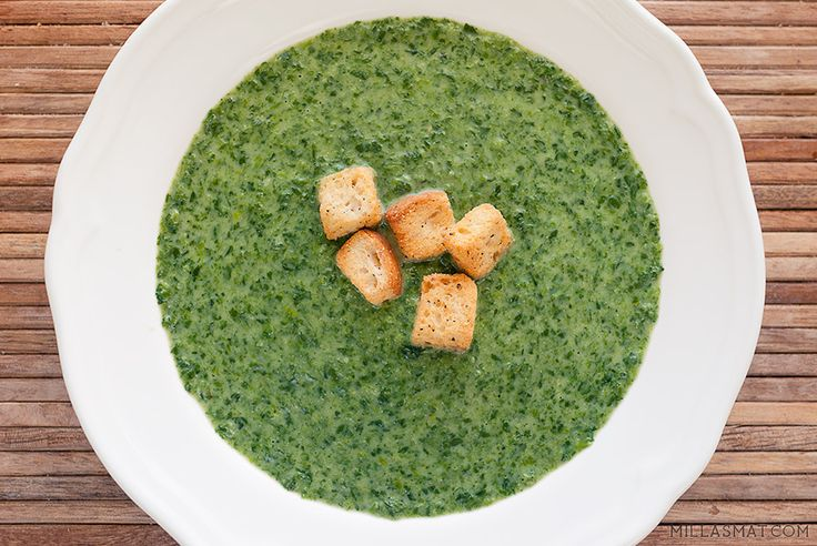 Spinatsuppe | Millas Mat