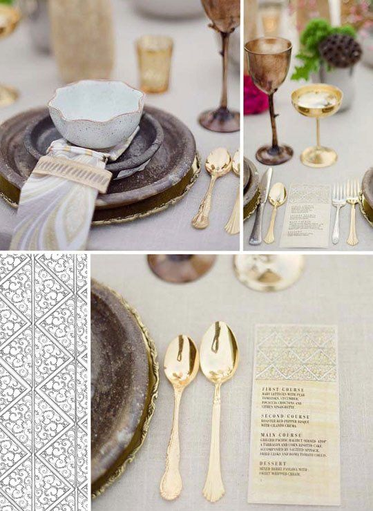 Setting the Table With: Gold Flatware | thekitchn