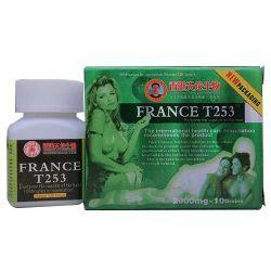 FRANCE T253ンポテンツと早漏を防止し、セックス時間を延長できます