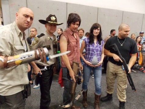 Elliott Miller on To be, Them and As - walking dead halloween costume ideas