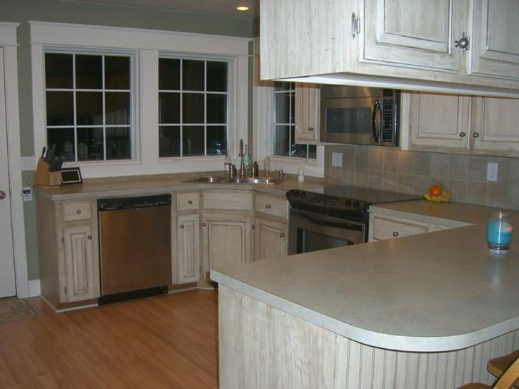 refinish white washed oak kitchen cabinets wood whitewash glazed pictures