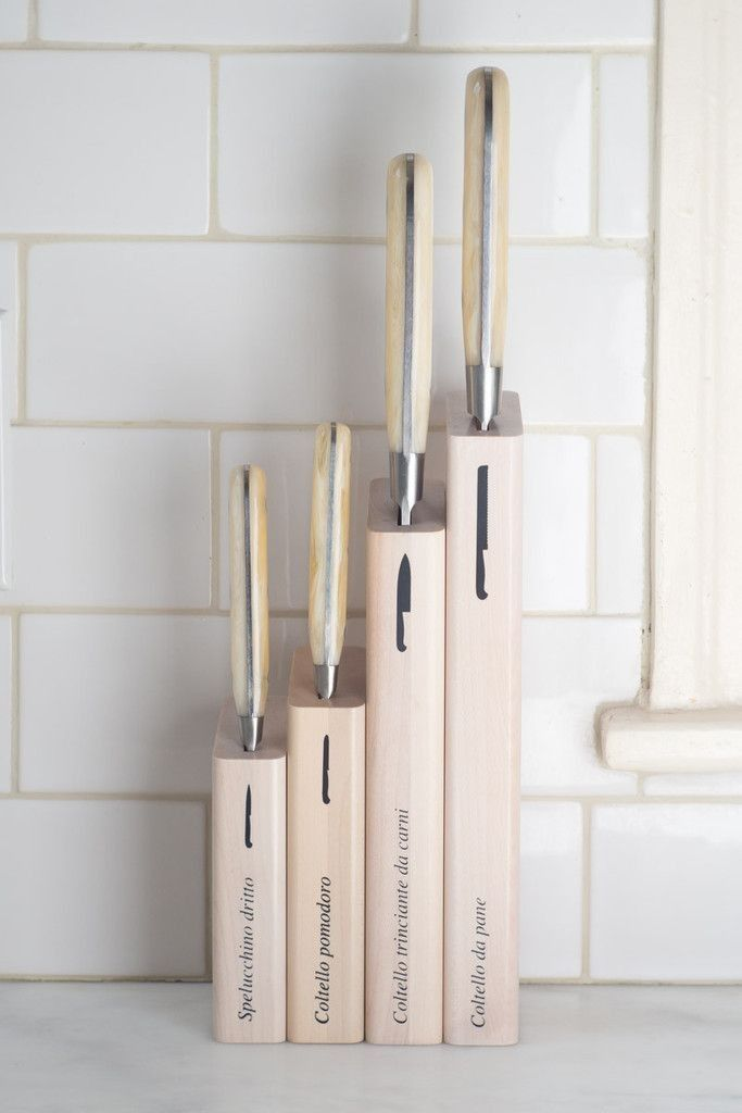 Coltellerie Berti knife set from Quitokeeto