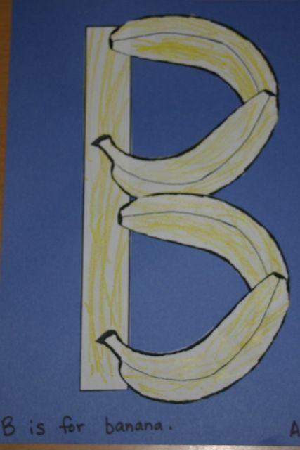 B jako banány