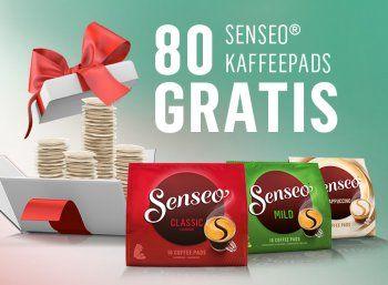 Gratis: 80 Senseo-Pads im Wert von bis zu 26,90 Euro via Cashback https://www.discountfan.de/artikel/essen_und_trinken/gratis-80-senseo-pads-im-wert-von-bis-zu-2690-euro-via-cashback.php Bei Senseo ist eine attraktive Cashback-Aktion gestartet: Ab sofort erhält man das Geld für 80 Pads im Wert von bis zu 26,90 Euro plus Versand. Gratis: 80 Senseo-Pads im Wert von bis zu 26,90 Euro via Cashback (Bild: Senseo.de) Um an der Cashback-Aktion von Senseo teilnehmen zu können, m