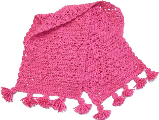 breast cancer awareness scarf on ravelry hats