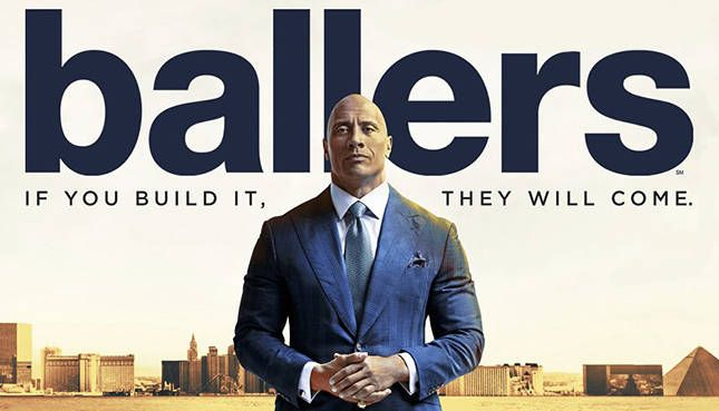"Ballers (HBO-July 23, 2017) - Season 3, a drama sports TV series created by Steve Levinson. Exec. Produced by Mark Wahlberg, Peter Berg, Dany Garcia. Ballers follows former superstar Spencer Strasmore as he gets his life on track in retirement while mentoring other current and former players through the daily grind of the business of football. Stars: Dwayne ""The Rock"" Johnson, Rob Corrdry, Omar Benson Miller, John David Washington, Donovan Carter, Troy Garity, Jazmyn Simon, and Arielle…"