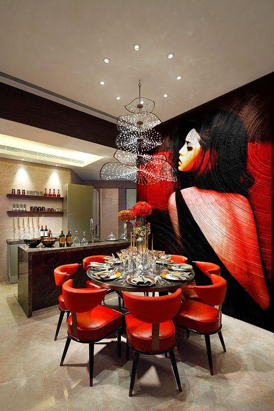 Solo-dining room design, original photo at decoist.com